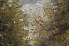 Часть картины маслом как изображение Стоковое фото RF