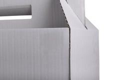 Часть картонной коробки стоковая фотография rf