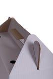 Часть картонной коробки стоковая фотография