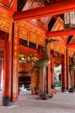 Часть китайского виска стоковое фото