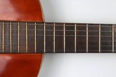 Часть классического крупного плана гитары Стоковые Изображения