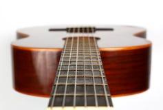 Часть классического крупного плана гитары Стоковые Фотографии RF