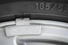 Часть колеса автомобиля Стоковые Фото