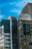 Часть конструкции многоэтажного здания Стоковая Фотография