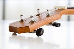 Часть конца-вверх гитары гавайской гитары Стоковые Фото