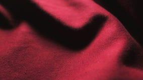 Часть красной ткани Смогите быть использовано как предпосылка акции видеоматериалы