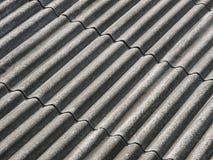 Часть крыши рифлёного шифера Стоковые Изображения RF