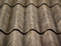 Часть крыши шифера (фокус в центре) Стоковые Фото