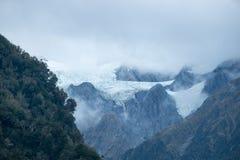 Часть ледника Frantz Josef, Новой Зеландии Стоковое Изображение