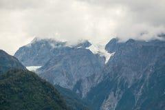 Часть ледника Frantz Josef, Новой Зеландии Стоковые Фото