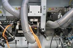часть машины для обрабатывать ткани стоковые фотографии rf