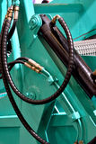 Часть машины чистки пляжа Стоковое фото RF