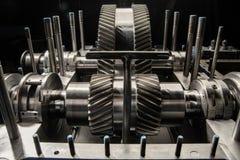 Часть малой паровой турбины Стоковые Изображения RF