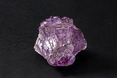 Часть минерала фторита от Zacatecas, Мексики Также вызвал fluorspar, стоковые фото