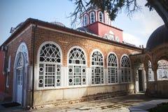 часть монастыря на Mount Athos, Греции Стоковые Фото
