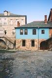 часть монастыря на Mount Athos, Греции стоковая фотография