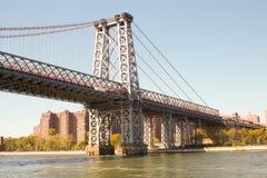 Часть моста в Нью-Йорке Стоковые Изображения