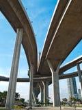 часть моста bhumibol стоковое фото