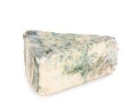 Часть мягкого голубого сыра Стоковые Изображения