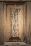 Часть новой деревянной двери крупного плана eyedroppers высокий разрешения взгляд очень Селективный фокус тон Стоковое фото RF