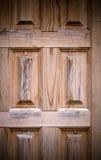 Часть новой деревянной двери крупного плана eyedroppers высокий разрешения взгляд очень Селективный фокус тон Стоковые Изображения