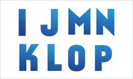 Часть 2 логотипа письма Стоковые Фотографии RF