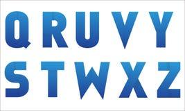 Часть 3 логотипа письма Стоковая Фотография