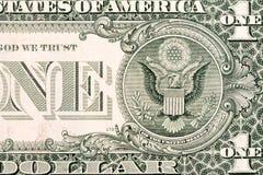 Часть одного доллара США Стоковые Изображения RF
