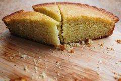 Часть отрезанного пирога Стоковое Изображение