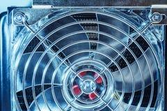 Часть охлаждающего вентилятора Стоковые Изображения