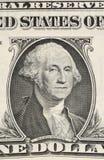 Часть одна банкнота доллара Стоковое Изображение RF