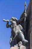 Часть памятника к сражению Grunwald Стоковая Фотография RF