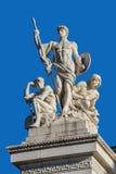 Часть памятника II Vittorio Emanuele в Риме стоковая фотография