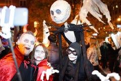 Часть 2015 парада хеллоуина деревни 2 73 Стоковые Фото