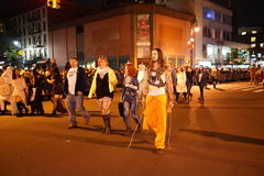Часть 2015 парада хеллоуина деревни 3 80 Стоковое фото RF