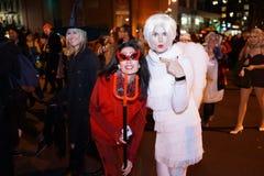 Часть 2015 парада хеллоуина деревни 4 2 Стоковая Фотография