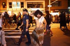 Часть 2015 парада хеллоуина деревни 4 4 Стоковое Изображение
