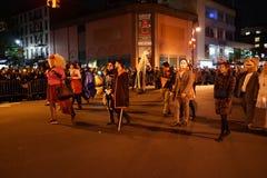 Часть 2015 парада хеллоуина деревни 4 45 Стоковое фото RF