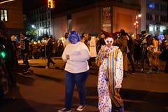 Часть 2015 парада хеллоуина деревни 5 17 Стоковое фото RF