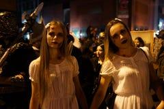 Часть 2015 парада хеллоуина деревни 5 58 Стоковое Фото