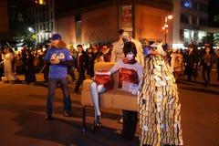 Часть 2015 парада хеллоуина деревни 5 62 Стоковое фото RF
