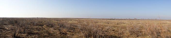 Часть перепада реки Evros, Греции, панорамного взгляда стоковое фото