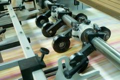 Часть печатной машины стоковые изображения rf