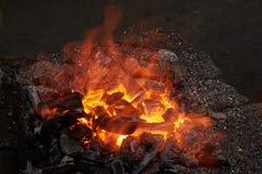 Часть печи для нагревая пробелов металла Стоковое Изображение