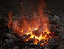 Часть печи для нагревая пробелов металла Стоковая Фотография RF