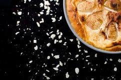 Часть пирога груши Стоковая Фотография RF
