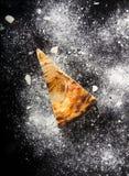 Часть пирога груши Стоковые Фотографии RF
