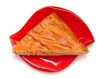 Часть пирога рыб Стоковое фото RF