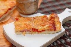 Часть пиццы Стоковое фото RF