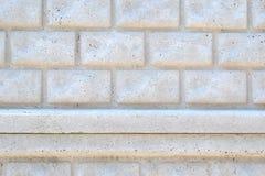 часть покрасила каменную стену Стоковое Изображение RF